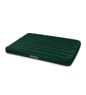 Intex Full Prestige Downy Airbed With Battery Pump IT66968