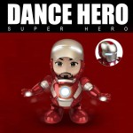 Dance Hero Iron M Dancing Super Hero Lights and Music Figure