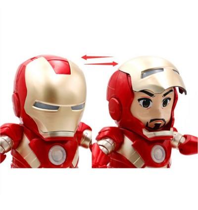Dance Hero Iron M Dancing Super Hero Lights and Music Figure