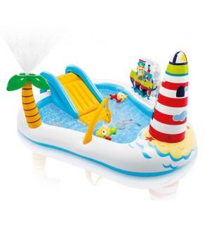 Intex Inflatable Fishing Fun Play Centre Swimming Pool Kolam Renang IT 57162NP