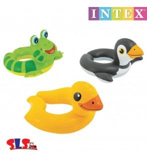 Intex Kiddie Floats Animal Split Rings IT59220NP