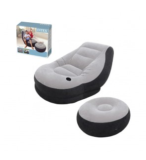 Intex Inflatable Ultra Lounge Air Seat Bed IT68564NP