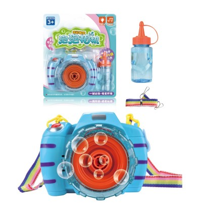 Mini Bubble Toys Camera Photography Effects Props with LED Lighting Music