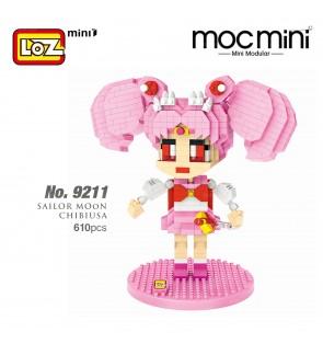 LOZ 9211 MINI Character Cartoon Nano Diamond Creative Brick Sailor Moon Chibiusa 610pcs