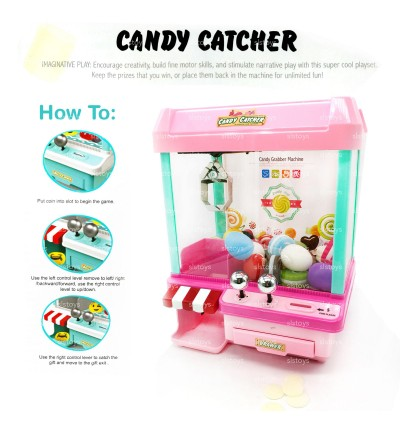 Candy Doll Catcher Machine Toys Large Size [Free 10x Cute Balls]