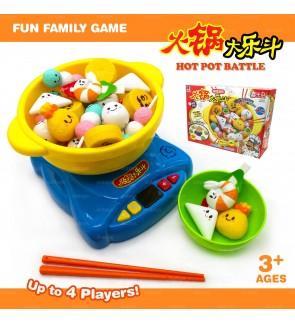 Hot Pot Toy Battle Fun Family Cooking Kitchen Game Multiplayer 火锅大乐斗玩具