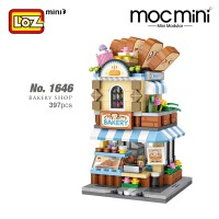LOZ MINI Nano Diamond Creative Brick No.1646 Bakery Shop 397pcs