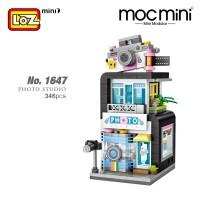 LOZ No.1647 MINI Nano Diamond Creative Brick Photo Studio 346pcs