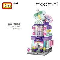 LOZ No.1648 MINI Nano Diamond Creative Brick Clothes Shop 377pcs