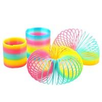 Educational Rainbow Circle Slinky Slime Creativity Flexibility