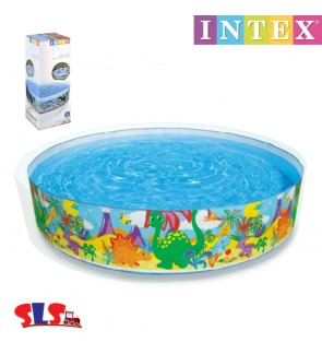 Intex Dinosaur Snap Set Pool 8 x 18 Inch IT 58472NP