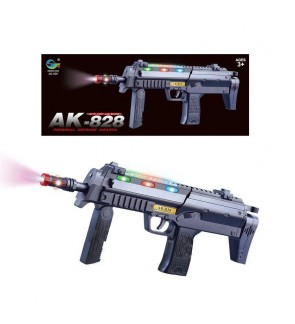 AK-828 Voice Vibration Shooting Blaster Toy with Features Dazzling Electric Light Amazing Electronic Sound Unique Action Game