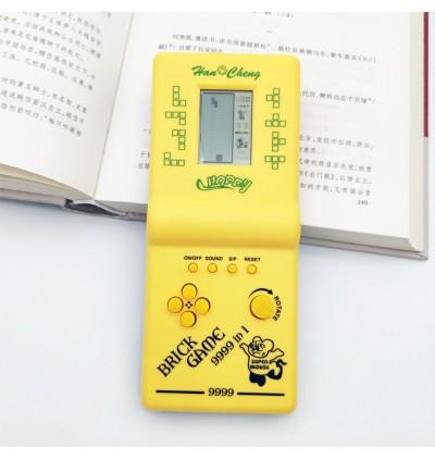 Classic retro electronic game boy console bricks device tetris handheld childhood 9999-in-1 race(Random Color)