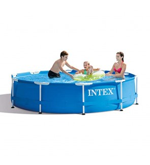 Intex 10ft x 30inMetal Frame Swimming Pool IT 28202UK