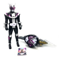 Keman Rider Transform Build Henshin Time Knight Sword Masked Superman Large Figure