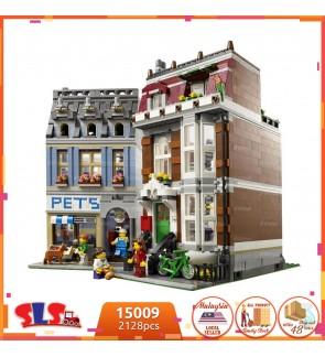 [Ready Stock] LP(LEJI) No.15009/LJ99006 Creator Pet Shop Street Building Block Series 2032pcs