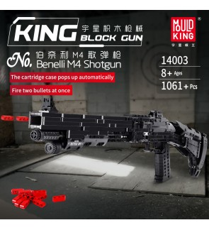 Mould King 14003 Benelli M4 Block Shooting Toy Building Bricks 1061+pcs