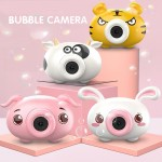 Bubble Camera Mini Cute Animal Character Bubble with LED Lighting and Music for Children Outdoor Fun