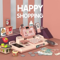 Happy Fun Shopping Cash Register with Light and Sound Pretend Play