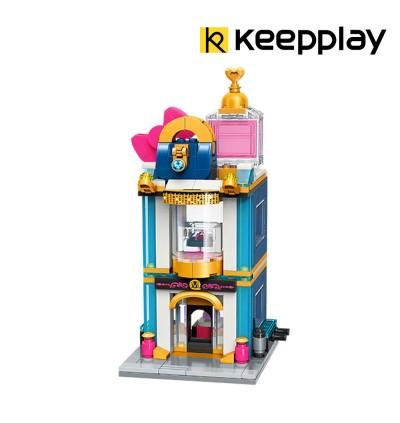 Qman C0110 Elegant Luxury StoreKeeppley Keepplay Keep Play Building Block 281pcs