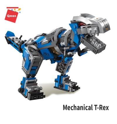 Qman 48033 IN 1 Transformation Machinery Technology Unlimited Ideas Series Bricks Building Blocks 375pcs