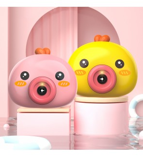 Bubble Dream Camera Toy Battery Operated Outdoor Continuous Buble Release Buih Riben Mesin 泡泡玩具相机