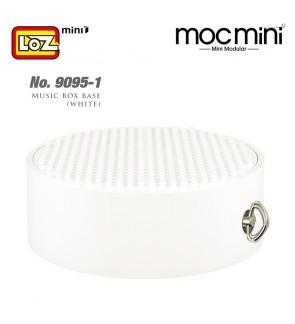 LOZ 9095-1 Music Box Base (White)Musical Box for Building Blocks Mini Display