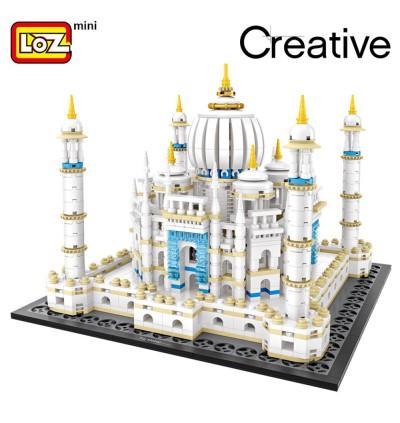 LOZ 1027 Taj Mahal Building Architecture Nano Diamond Creative Brick 1987pcs
