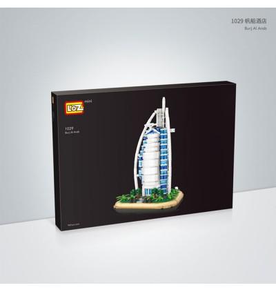 LOZ 1029 Sailing Hotel Building Architecture Nano Diamond Creative Brick 926pcs