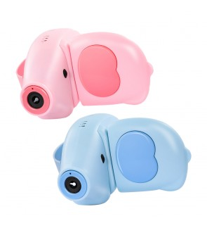 Bubble Cute Elephant Toy Battery Operated Outdoor Continuous Bubble Release Buih Riben Mesin 泡泡相机