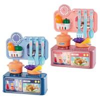 24cm Dream Kitchen Set Cooking Mini Stove Table Children Pretend Play