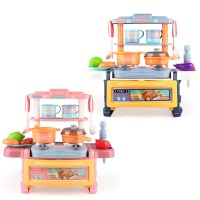 33cm Dream Kitchen Set Cooking Mini Stove Table Cyclic Water Children Pretend Play