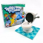 Free 2x AAs Batteries Toilet Trouble Face the Flush Family Fun Games Interaction