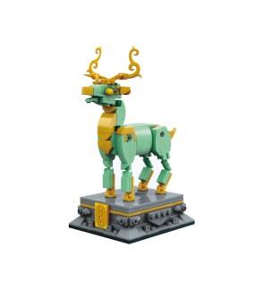 Qman Brick K10122 CNY Chinese New Year Series Deer Keeppley Keepplay Building Blocks
