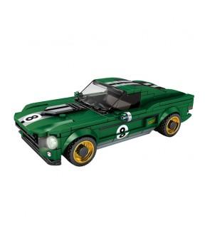 SY Sheng Yuan 5113 SY5113 Famous Car World Series Vehicle Building Block Bricks 326+pcs