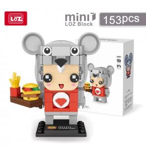 LOZ IDEAS Mini Block MMPOP E0001 Rat Chinese Zodiac Character