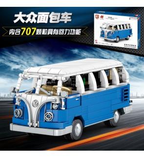 Sembo Block 701810Beijing Automobile Museum Vehicle Building Bricks 707pcs