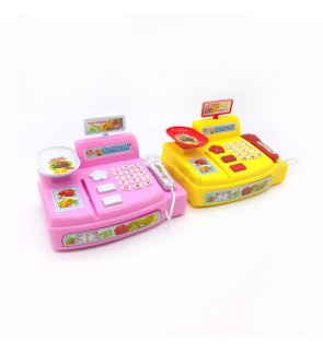 Mini Battery Operated Cash Register  Toys Kids Pretend Play [3 years and above] Random Color