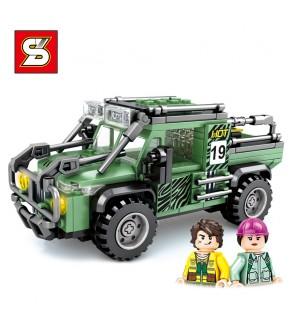 SY Sheng Yuan 5120 SY5120 Famous Car World Series Vacation Buggy Vehicle Building Block Bricks 270pcs