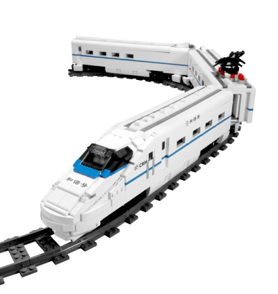 Mould King12002 / 12002CX Harmony CRH2A Electric EMUTrain World Train Series Building Block