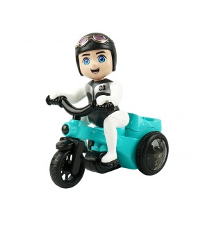[Light & Music] DiDai Battery Operated Moving Fun Tricycle