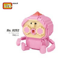 LOZ IDEAS Mini Block iBLOCK FUN 9252 Kobito Pi Tao Jun Cartoon Character Building Diamond Brick 14+ Ages
