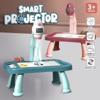 Smart Projector Desk Projection Kids Tracing Drawing Toy Board Table Children Mainan Alat Melukis Kanak