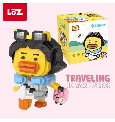 LOZ IDEAS Mini Block iBLOCK FUN 9267 / 9268 B Family Bubble Tea Traveling Duck Building Brick 14+ Ages 奶茶鸭 旅行鸭