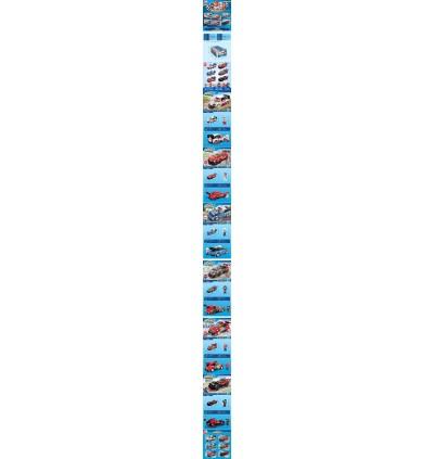 [Random Design] Qman MineCity 4201 Race Car Model Racing Rally Track Sport Cars Model Vehicle Blocks