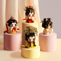 Viggi X Sembo Block 516030 / 516031 / 516032 / 516033 / 516034 Princess Empress Series Building Bricks Blocks