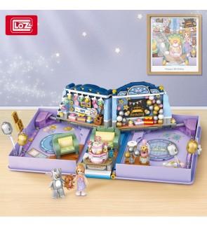 LOZ IDEAS 1229 Birthday Book Block Expandable Cute Children Gift Present Building Bricks 6+ Ages