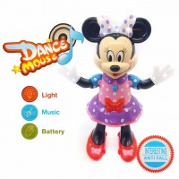 Battery Operated Dance Mouse Interesting Anti Fall