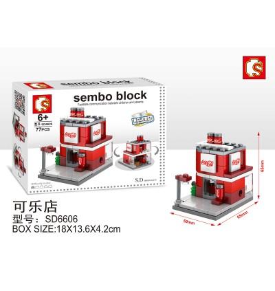 Sembo SD6600/6601/6602/6603/6604/6605/6606/6607 Building MINI Street Block Set *8 design*
