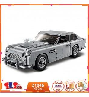 007 Series Aston Martin James Bond Car Design Block 1450pcs 21046